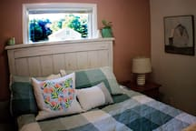 Beautiful wooded barn views from your bedroom window!