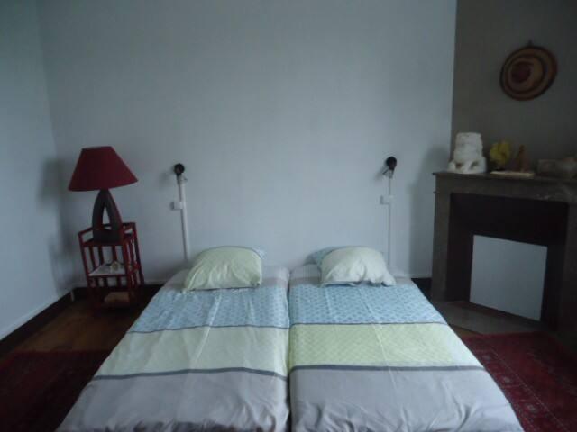 chambre d'hôtes dans maison particulière agréable