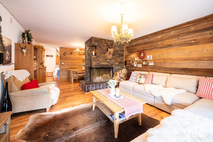 Amazing 3 BR apartment in Flims Dorf (Casa Ner A)