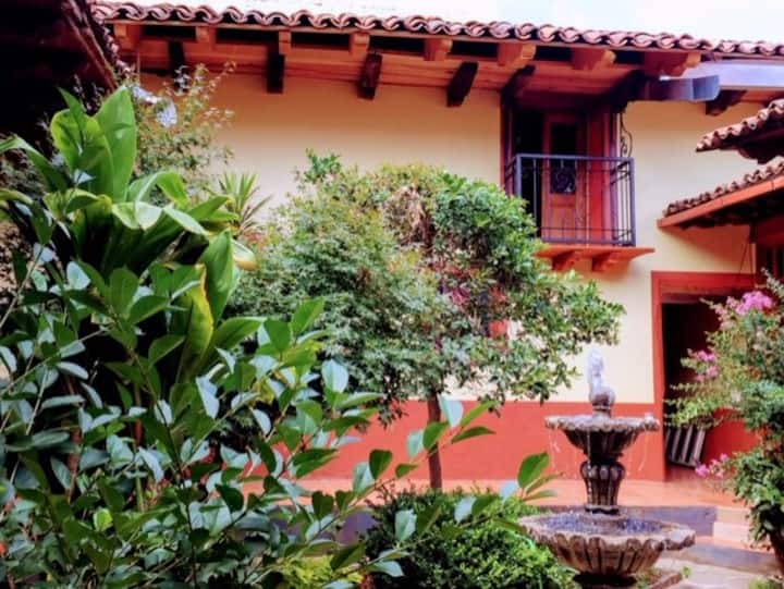 La casa del patio. centro histórico.