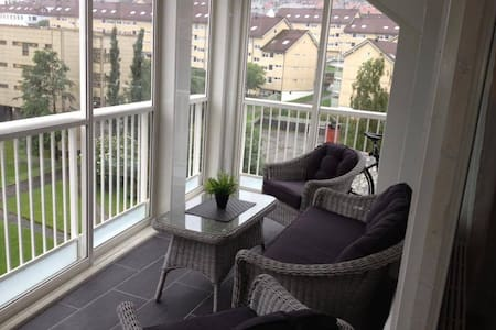 Modern comfortable appartment close to centre - Bergen - Apartment