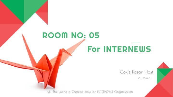 Room No.5 For INTERNEWS Organisation