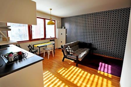 Designed&Bright Apt. 11min OldTown,15min Airport - Praha - Apartment