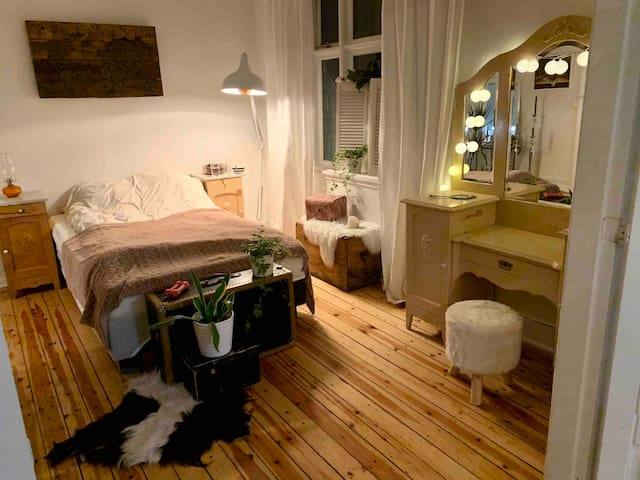 Bright and spacious room in heart of Reykjavík