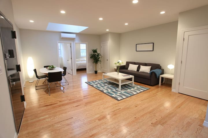 Beautiful penthouse in Williamsburg - New York - Daire