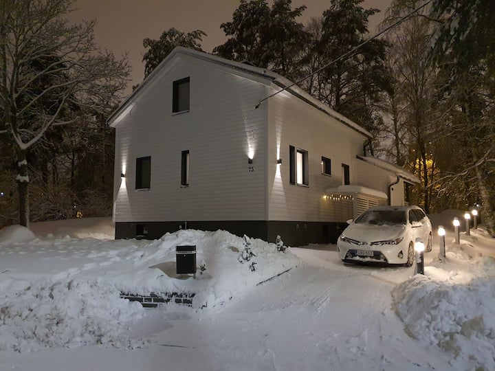 Beautiful and compact house in the heart of Turku