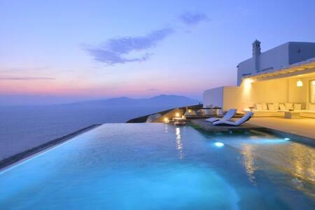 Luxury 8 bedroom Villa in Mykonos 10522 - ミコノス島 - 別荘