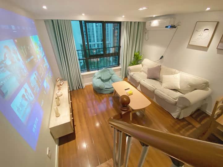 【风再起时】滨湖CBD | 复式公寓 | 地铁一号线 | 江南大学 | 融创乐园 | 鼋头渚 临近