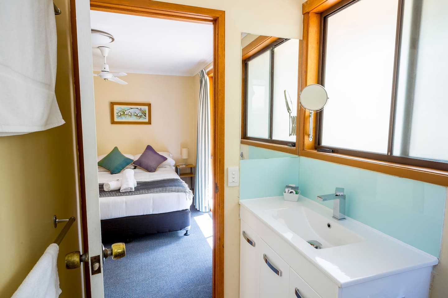 Beddroom 1 with ensuite