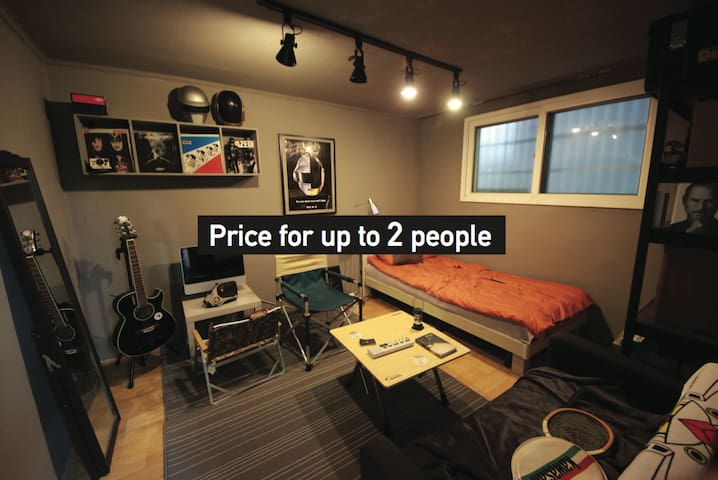 **Discount** HongDae[Private ROOM] 10mins walk - Mapo-gu - Pis