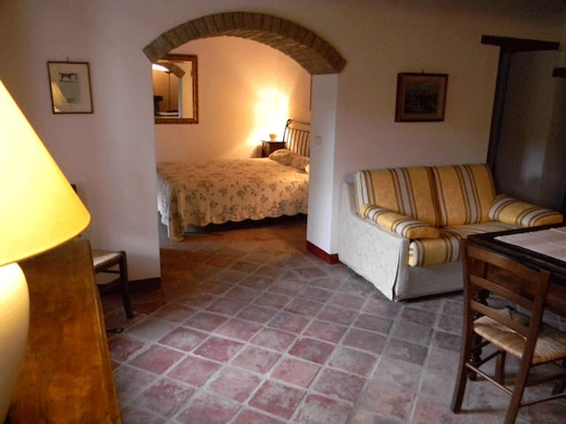 Ferienwohnung für zwei am Weingut - Valle San Giovanni - Lägenhet
