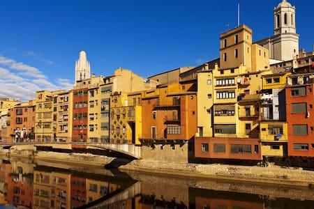 Amazing apt overlooking the river - 赫羅納(Girona) - 公寓