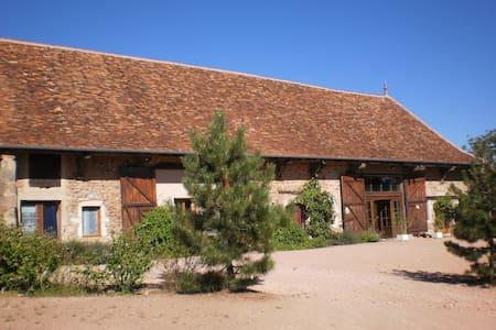 Grand gîte de groupe de 22 pers Saône et Loire(71) - Beaubery - Дом