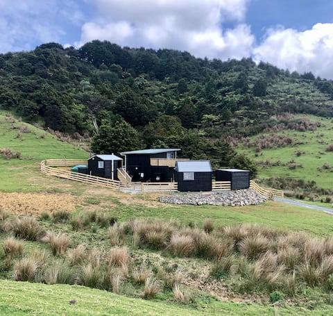 Near new, unique rural home