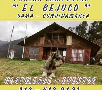 Finca El Bejuco Cabaña Campestre Gama-Cundinamarca