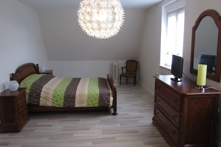 Chambre dans maison - Niederschaeffolsheim