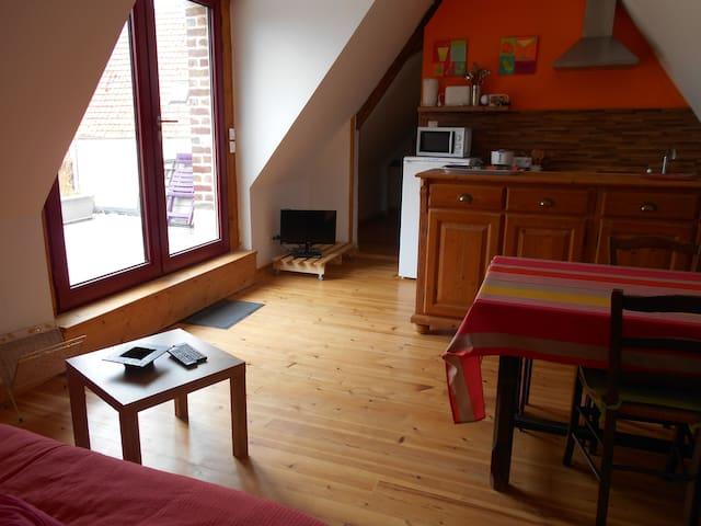Gite en campagne - Morbecque - Apartment