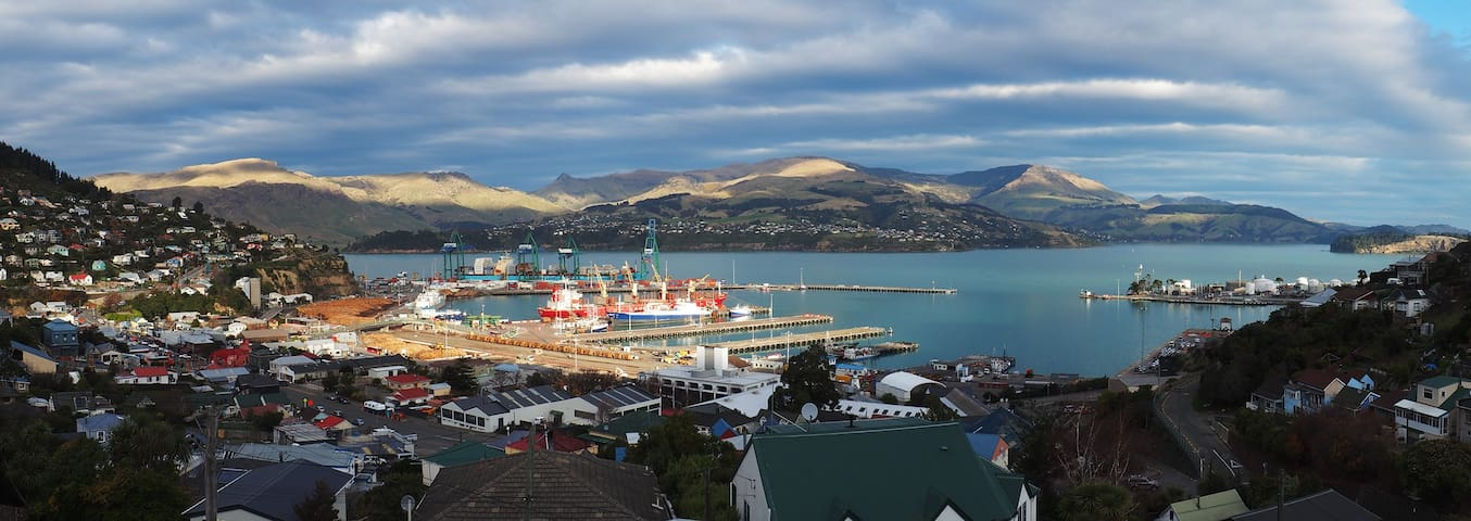 Harbour Lodge - Room with Ensuite - Lyttelton - Dom