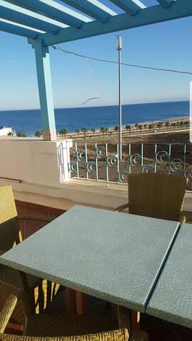 Apartment beach view Babsebta (Fnidek, 5 min sebta