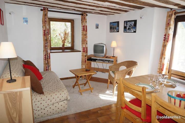 Edelweiss aux Soldanelles, le charme de l'ancien - Saint-Véran - Apartament