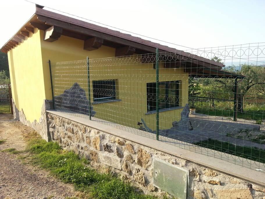 Monolocale 30m vista lago case in affitto a capodimonte for Piccoli piani casa sul lago con soppalco