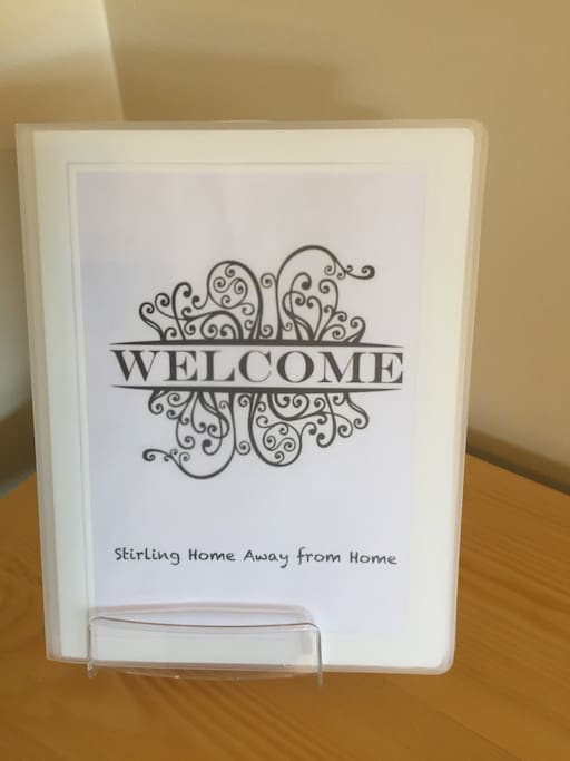 Welcome - house manual