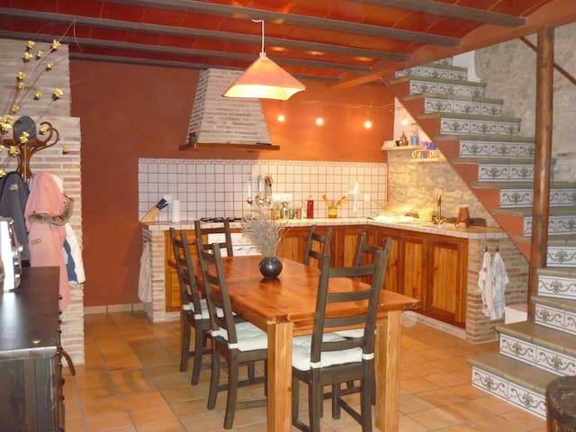 Confortable vivienda vacacional - Boixar - Casa