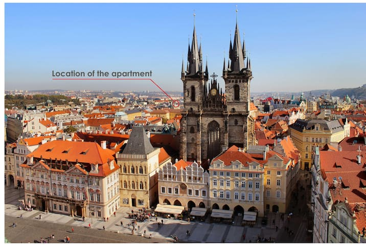 New Apartment in Old Town - Prag