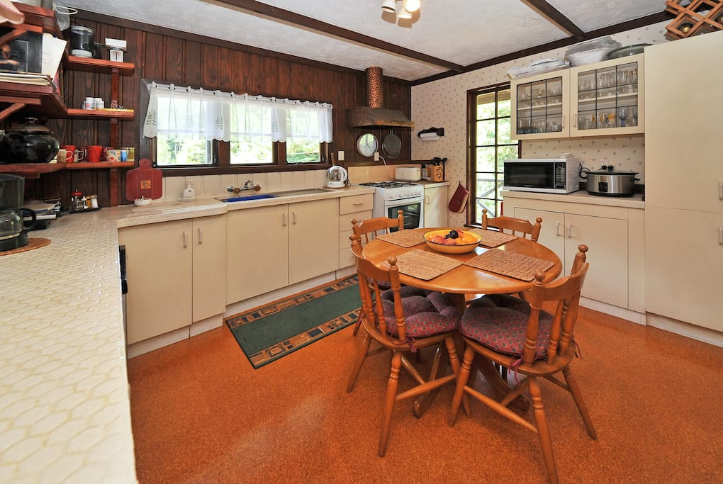 Full Access to kitchen Area.