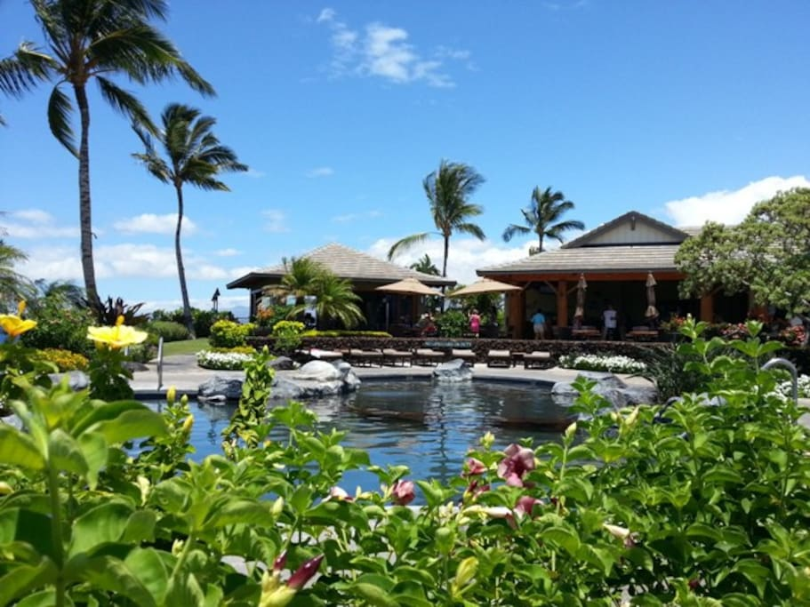 The Ocean Club for exclusive use of Hali'i Kai guests