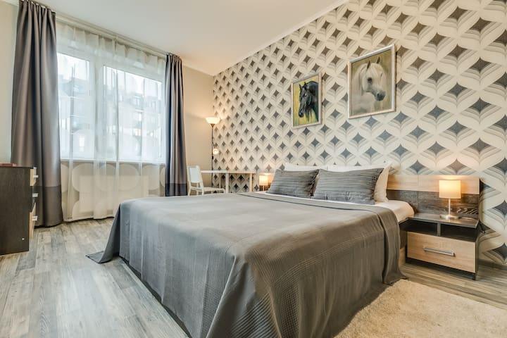 """Апартаменты  """"Две Подушки"""" на Сапёрной 55-2-6"""