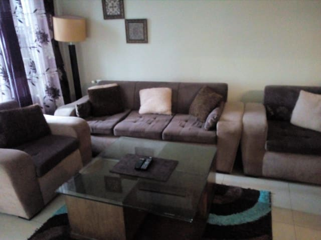 Furnished apartment with living room.