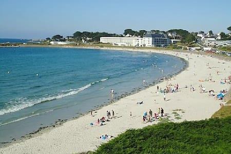 F2 front de mer, accès direct plage - Trévou-Tréguignec - Byt