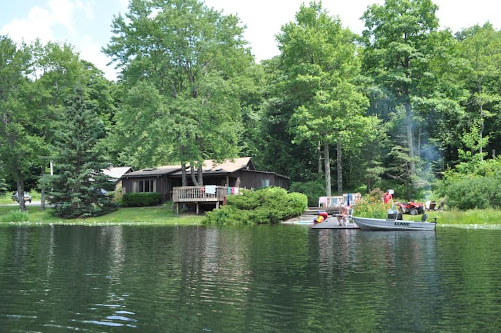 Private, Lakeside Escape - Susquehanna - Casa