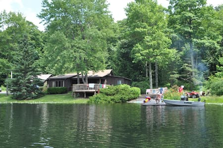 Private, Lakeside Escape - Susquehanna - บ้าน