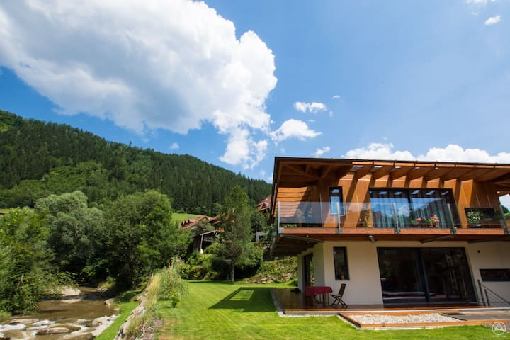 Quite hide away at the river - Murau - Apartemen