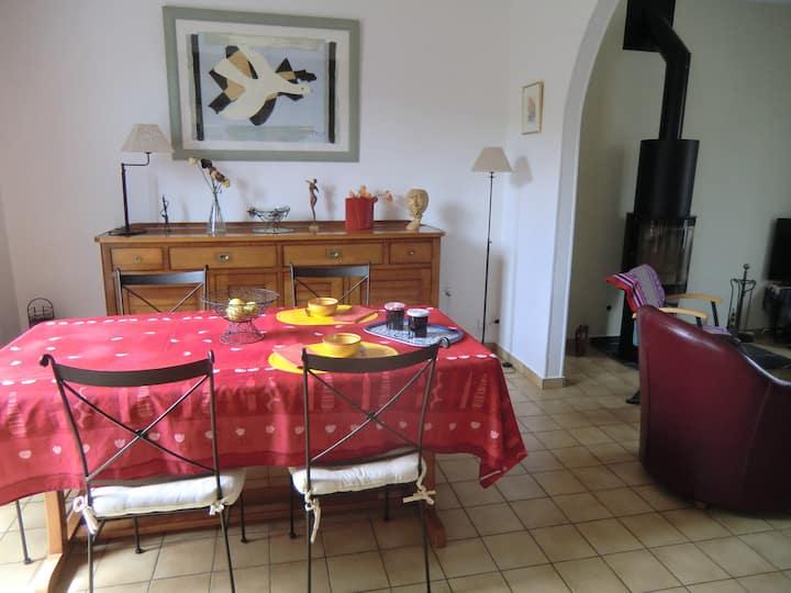 Chambre d'hôte en bord de Marne