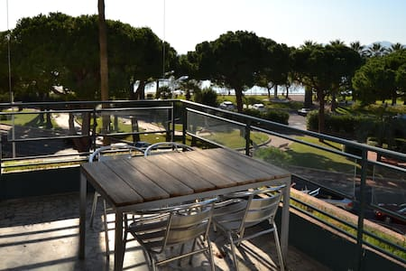 Croisette - terrace with sea view - Cannes - Appartamento