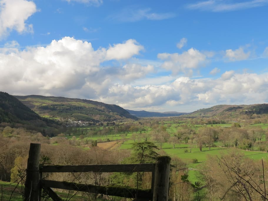 Trefriw in the beautiful Conwy Valley