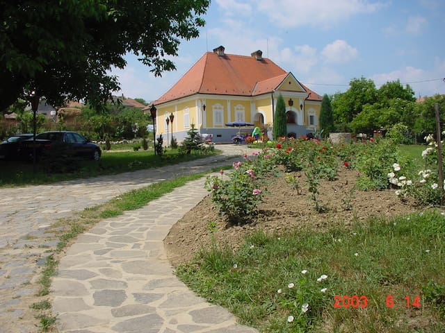 Kaldy castle in rural Hungary - Legénd