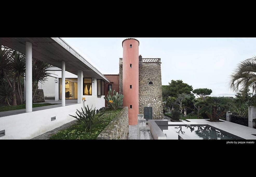 Dépendance, villa storica, area piscina
