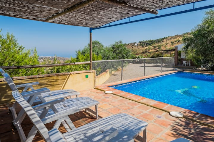 private pool, wifi, beach 5.5 kms - Torre del Mar - Hus