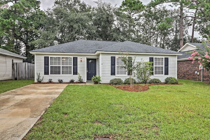 Updated Savannah House w/ Fenced-In Backyard!