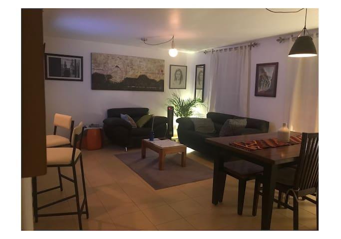 Gated apartment in Queretaros Heart!