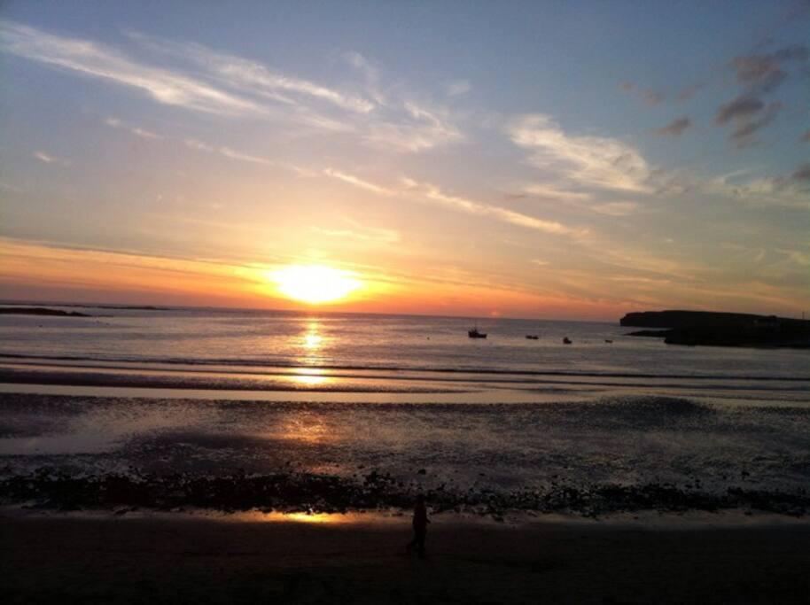 Bay at Dawn