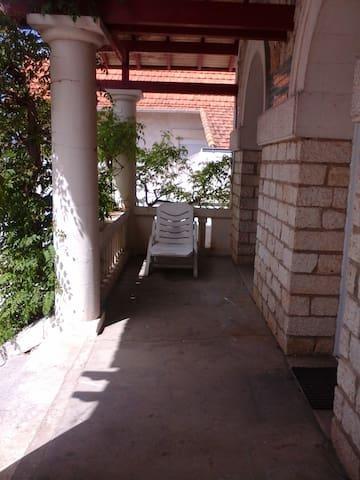 Terrasse devant