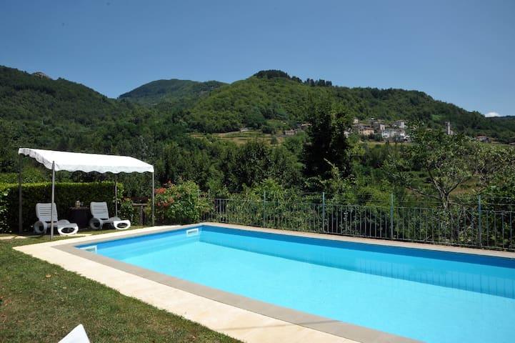 La Casetta - Villa Collemandina - Dům