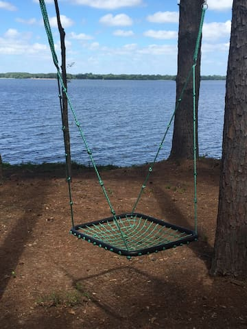 Swing is super fun for kids AND adults!