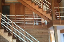 Look of stairs for second and third floor