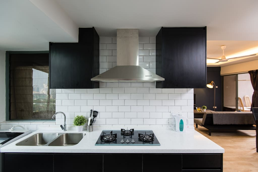 Fully functional modern kitchen